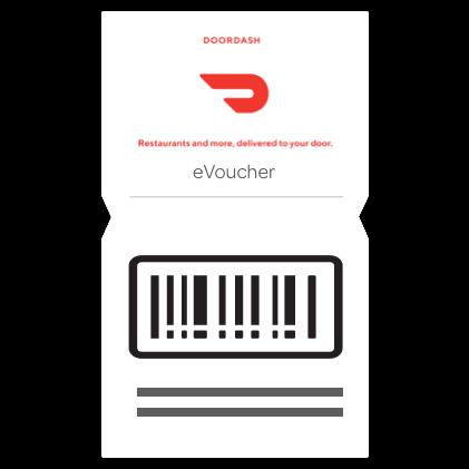 Doordash - $20 E-Giftcard