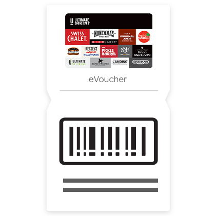 $10 The Ultimate Dining Card eVoucher