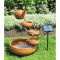 KoolScapes 5-Tier Terracotta Solar Cascading Fountain Kit #2