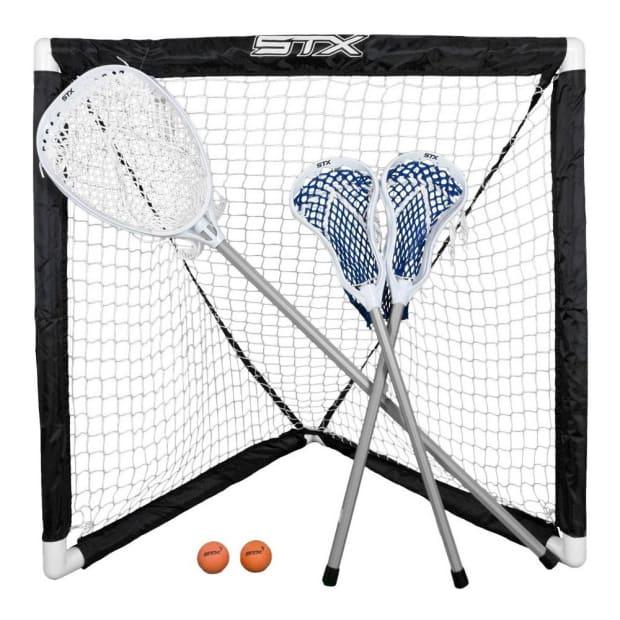 STX Mini Lacrosse Game Set - 3 Players
