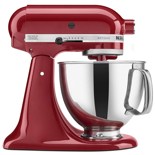 KitchenAid® Artisan® Series 5 Quart Tilt-Head Stand Mixer - Empire Red #1