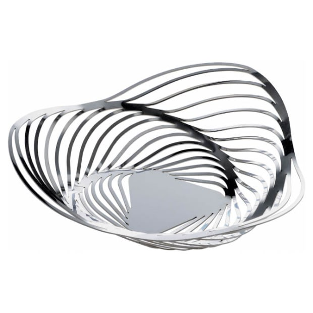 Alessi Trinity Stainless Steel Fruit Basket