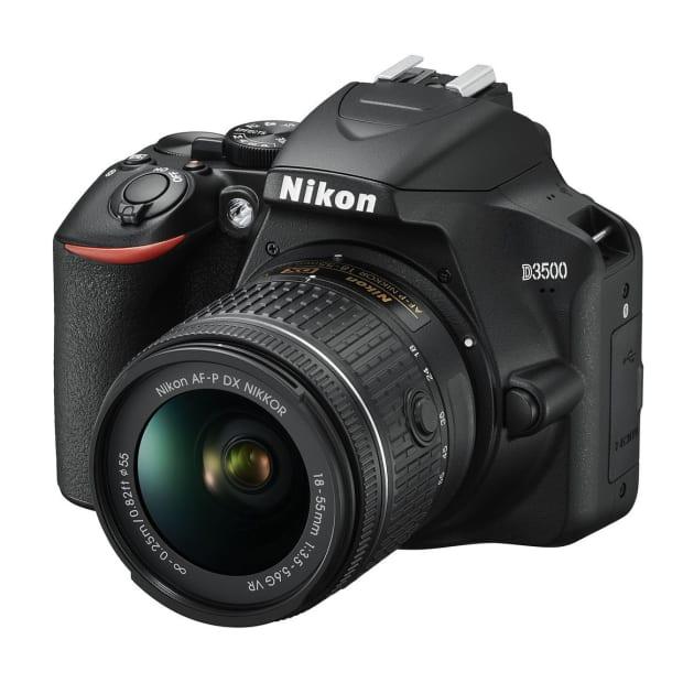 Nikon D3500 AF-P DX NIKKOR 18-55mm f/3.5-5.6G VR Kit #1