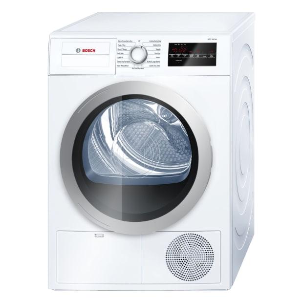 Bosch 500 Series 24'' Compact Condensation Dryer - White/Silver #1