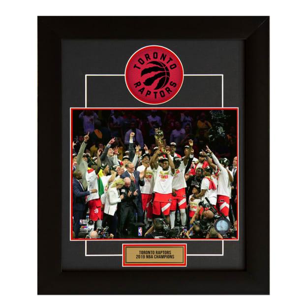 A.J. Sportsworld Toronto Raptors 2019 NBA Champions 20x24 Team Frame
