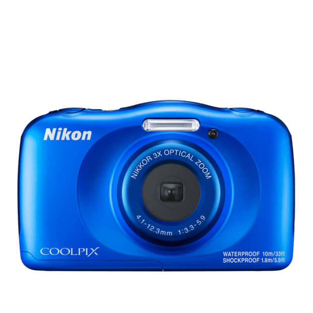 Nikon COOLPIX W150 Waterproof Digital Camera - Blue #1