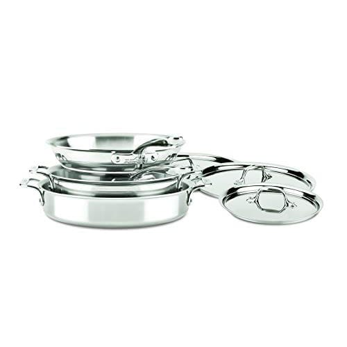 ALL-CLAD D3 Stainless Compact 7-Piece Set #1
