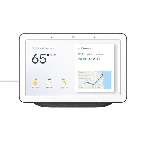 Google Nest Hub with Google Assistant - Charcoal #1
