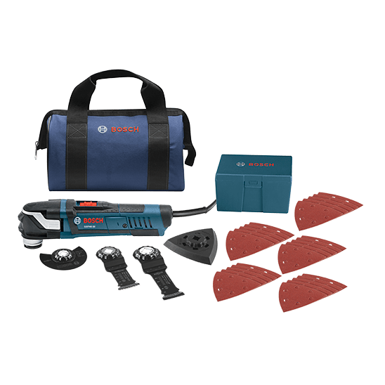 Bosch GOP40-30B 30-Piece StarlockPlus® Oscillating Multi-Tool Kit