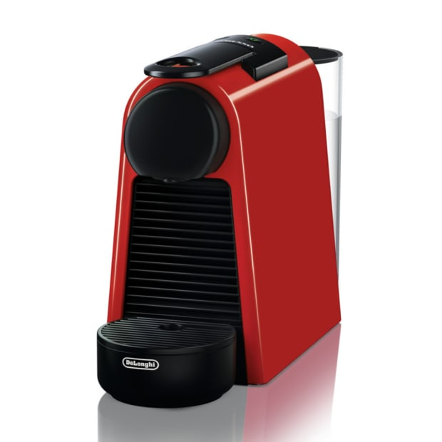 Nespresso Essenza Mini Espresso Machine - Red