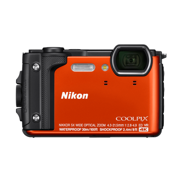Nikon COOLPIX W300 Compact Digital Camera - Orange #1
