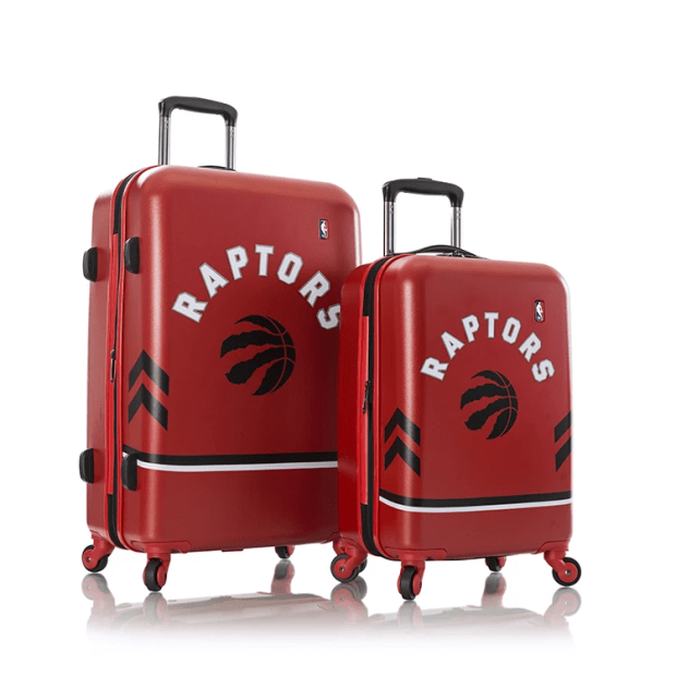"HEYS® NBA Luggage 2-Piece Set (21'' & 26"") - Toronto Raptors #1"