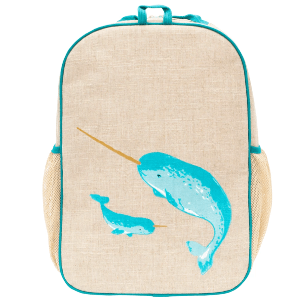 SoYoung® Teal Narwhal Grade School Backpack #1