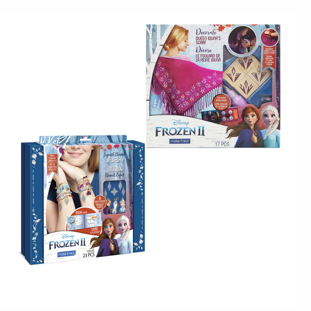Make It Real™ Disney Frozen II Exquisite Elements Jewelry and Decorate Queen Iduna's Scarf Kits #1