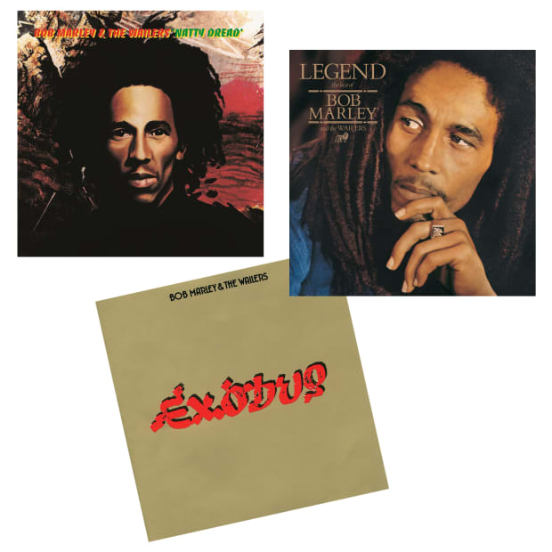 The Bob Marley Collection Vinyl Records Bundle - Exodus, Legend, Natty Dread #1