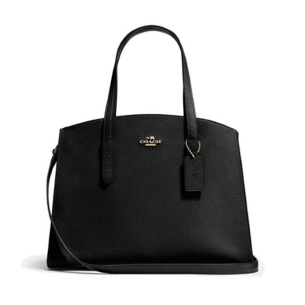 Coach Charlie Carryall - Black/Light Gold #1
