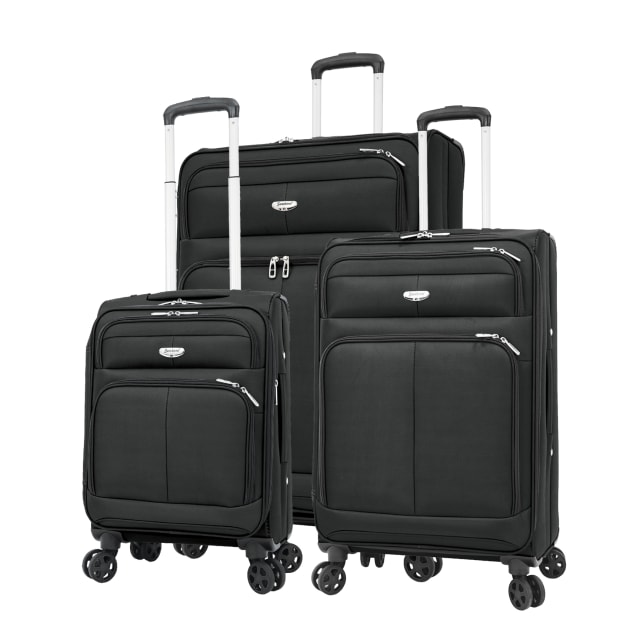 Samboro Spirit Lite Softside 3-Piece Set - Black