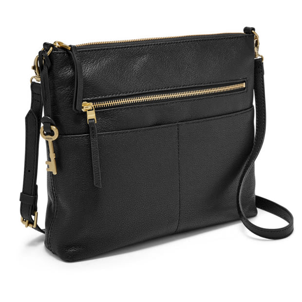 Fossil Fiona Large Crossbody Bag - Black #1