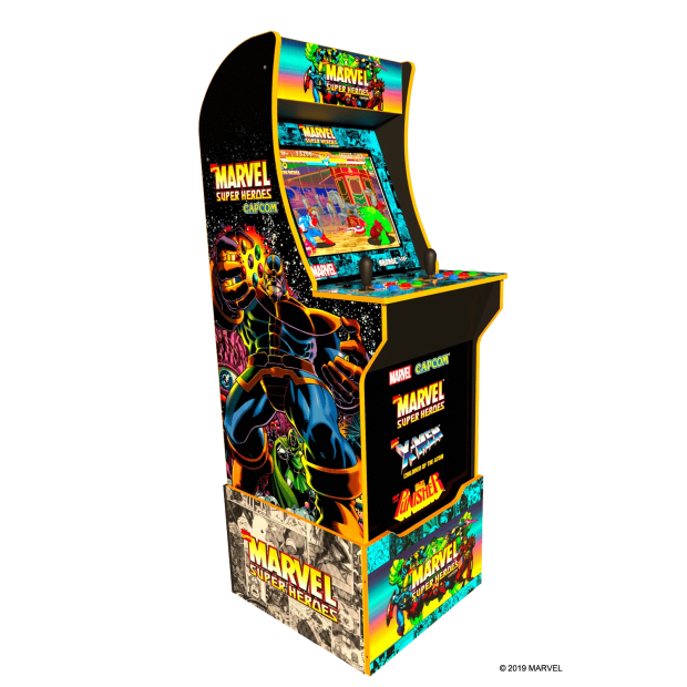Arcade1Up™ Marvel Super Heroes Arcade Cabinet Special Edition with Custom Riser Included #1