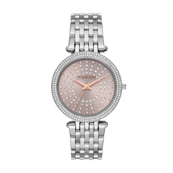 Michael Kors Darci Celestial Pavé Silver-Tone Watch #1