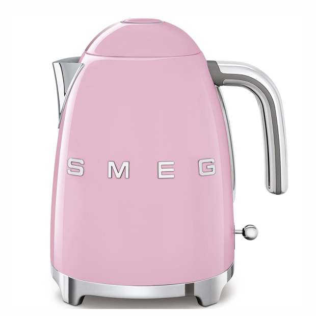 SMEG 50's Retro Style Aesthetic Electric Kettle - Pink #1