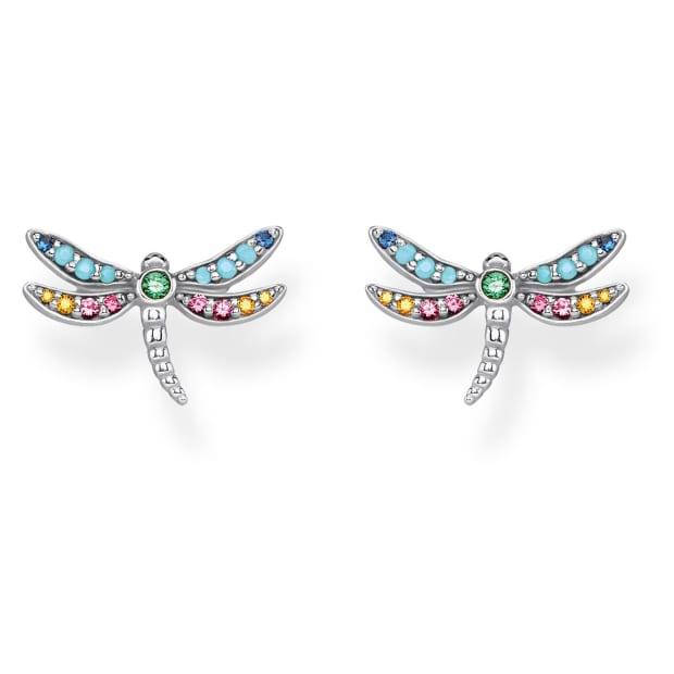 Thomas Sabo Sterling Silver Dragonfly Ear Studs #1