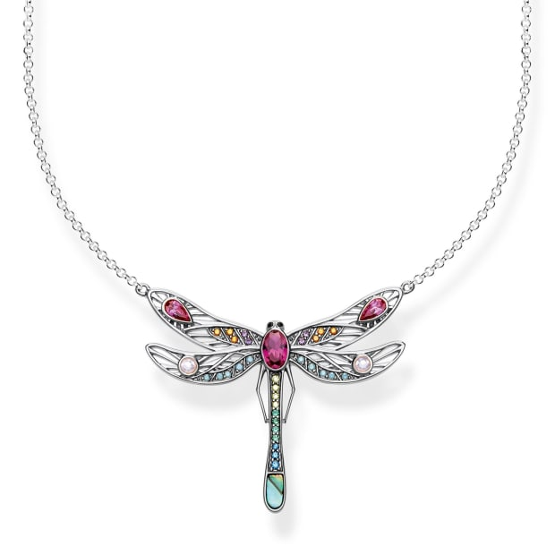 Thomas Sabo Sterling Silver Large Dragonfly Necklace #1