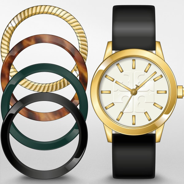 Tory Burch Gigi Interchangeable Bezel Watch