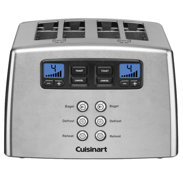 Cuisinart® Countdown Lever-Less 4-Slice Toaster #1