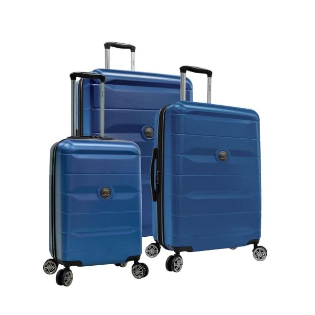 Delsey Comete 2.0 3-Piece Luggage Set - Blue