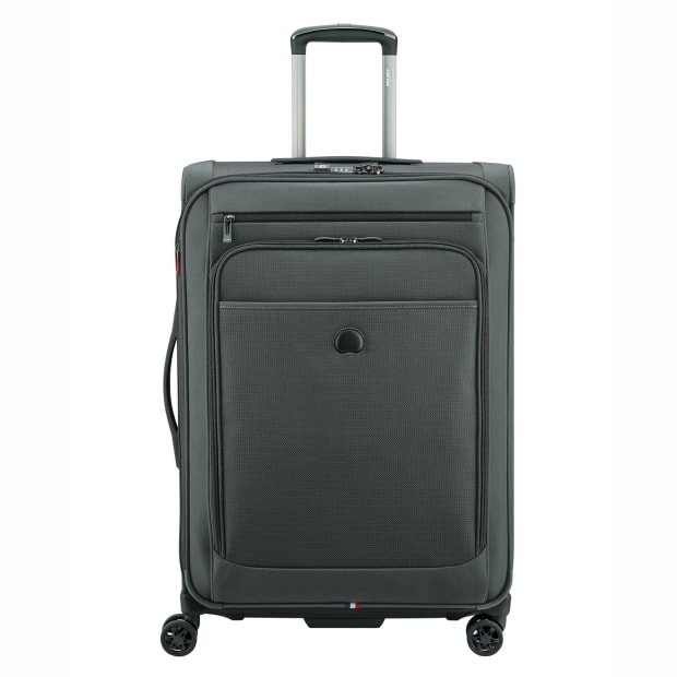 Delsey Helium Pilot 4.0 25'' Expandable Spinner Trolley - Grey