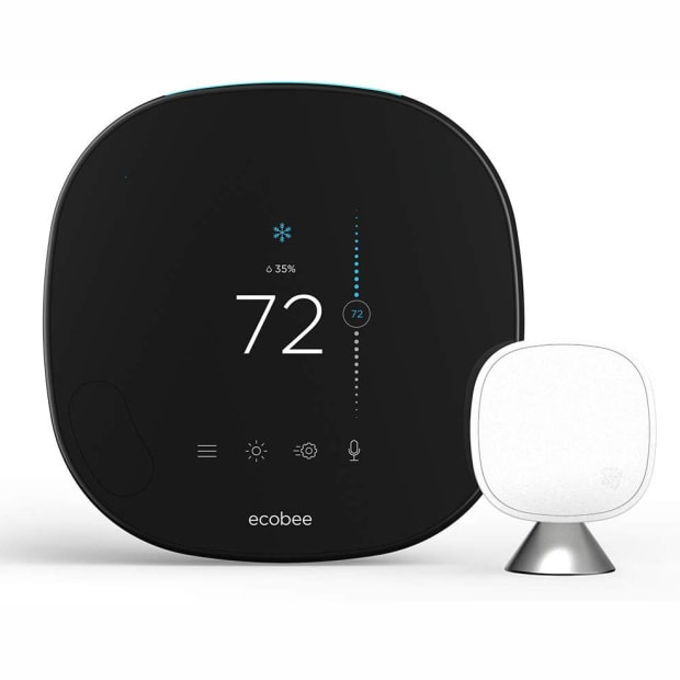 Ecobee Smart Thermostat With Voice Control & All-New Smartsensor