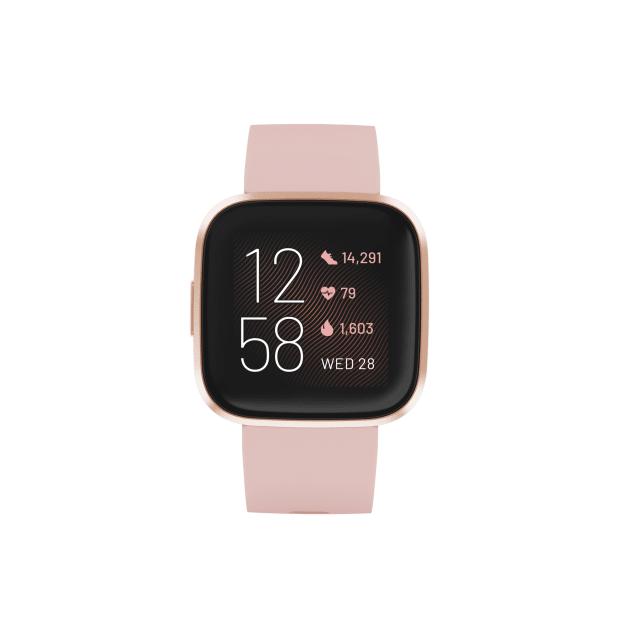 Fitbit Versa 2 Smartwatch – Petal/Copper Rose Aluminum #1