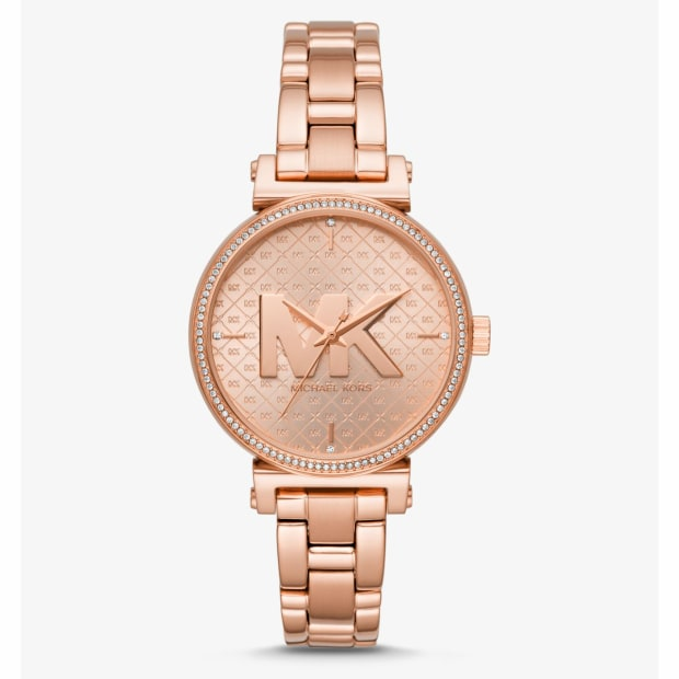 Michael Kors Sofie Rose Gold-Tone Watch #1