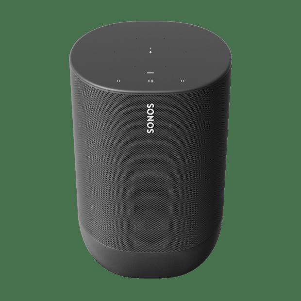 SONOS® Move Portable WiFi + Bluetooth Speaker - Black #1