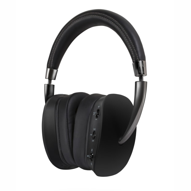 NAD HP70 Wireless Active Noise Cancelling HD Headphones - Black