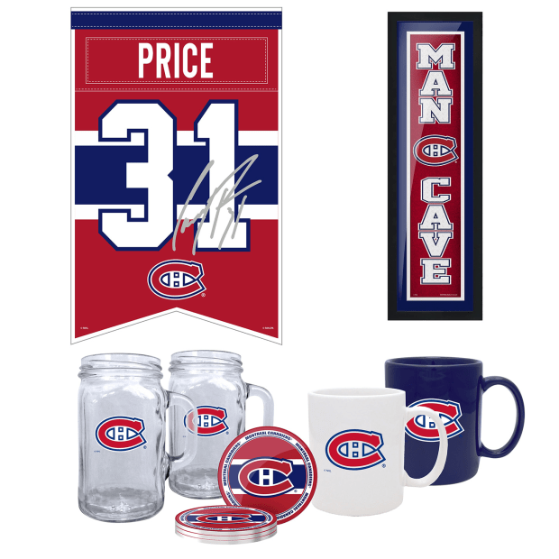 NHL Montreal Canadiens 5-Piece Fan Bundle