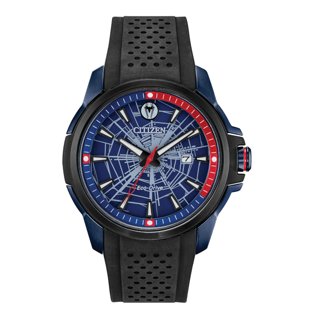 Citizen Marvel Spider Man Eco-Drive Blue Dial Watch #1