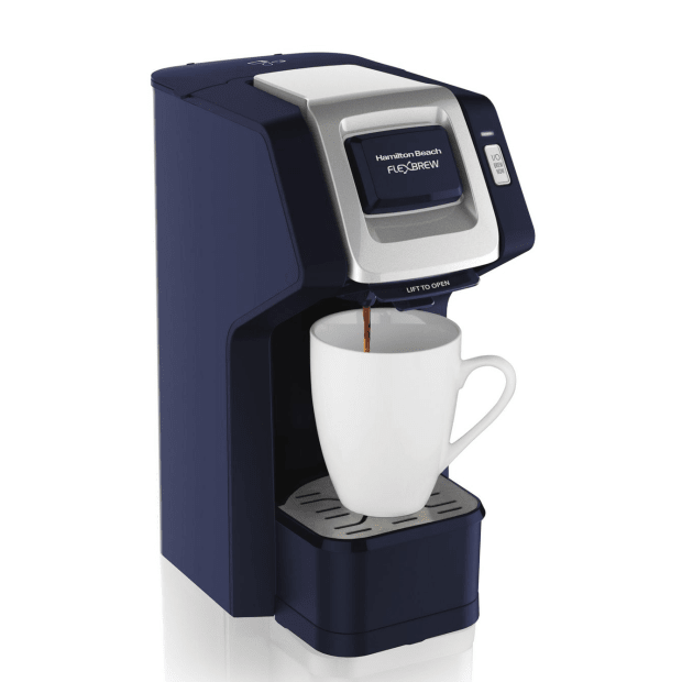 Hamilton Beach® FlexBrew® Single-Serve Coffeemaker - Navy #1