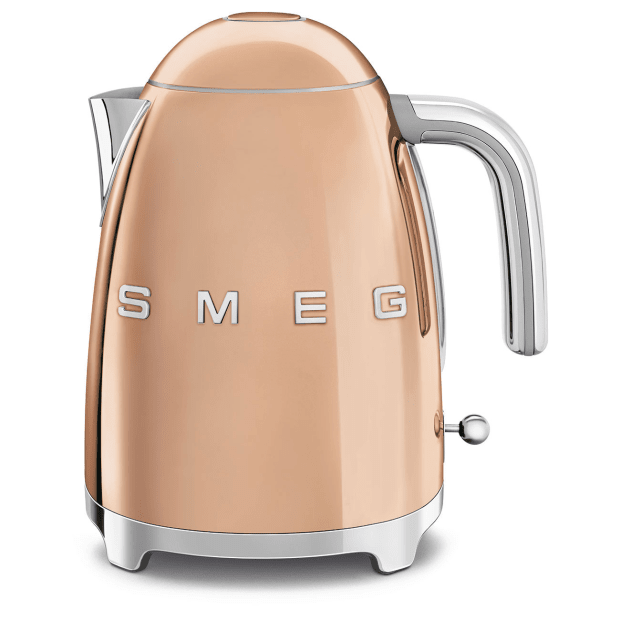 SMEG 50's Retro Style Aesthetic Electric Kettle - Rose Gold #1