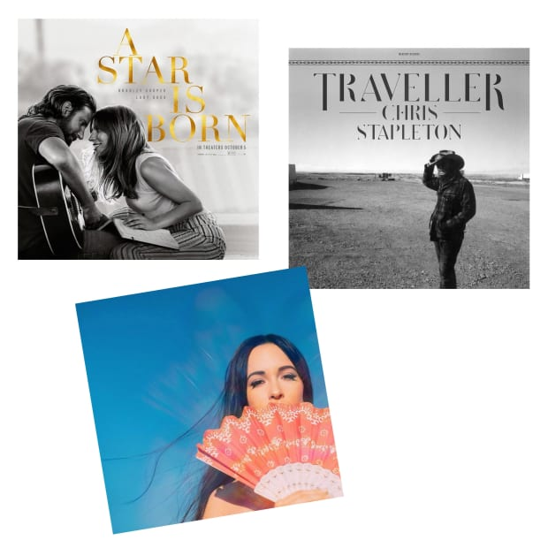 Modern Country Collection Vinyl Records Bundle - Golden Hour, Traveller & A Star Is Born (Soundtrack) #1