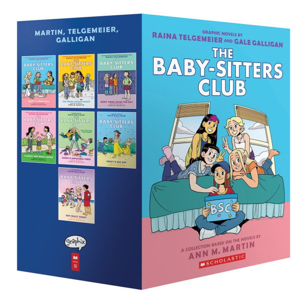The Baby-Sitters Club Graphix #1-7 Box Set: A Graphix Collection by Ann M. Martin