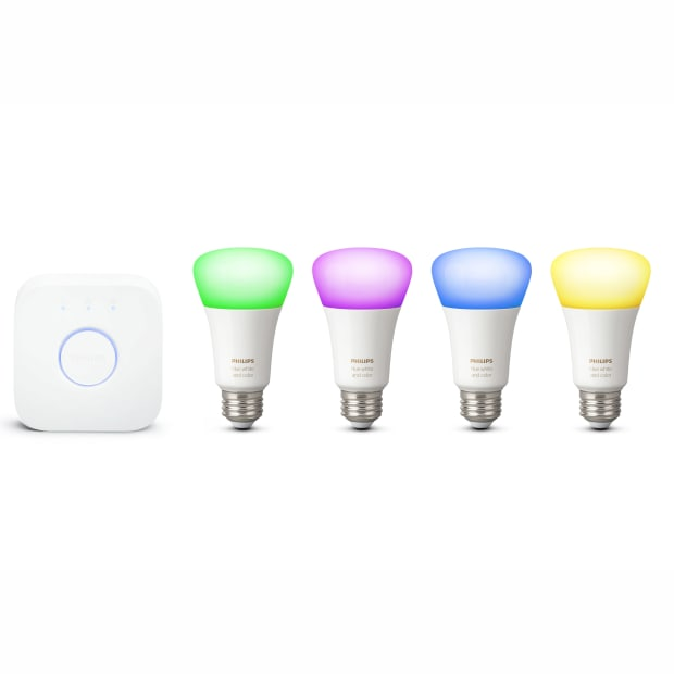 Philips Hue White & Colour A19 Starter Kit with Bluetooth