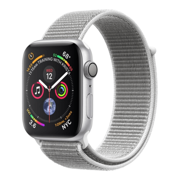 Apple Watch Series 4 -Silver Aluminum Case with Seashell Sport Loop - 40mm - GPS #1