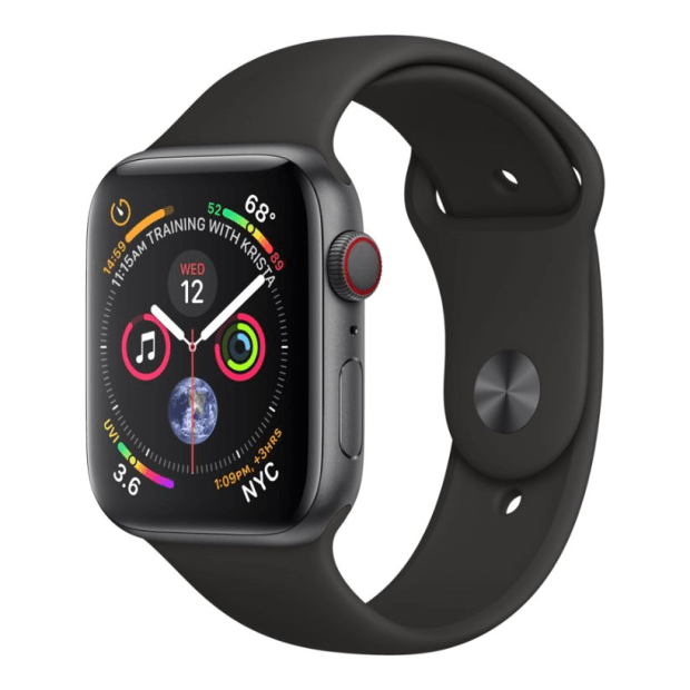 Apple Watch Series 4 - Space Grey Aluminum Case with Black Sport Loop - 40mm - GPS + Cellular #1