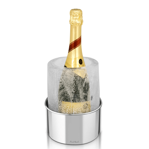 Final Touch® Stainless Steel Ice Bottle Chiller #1