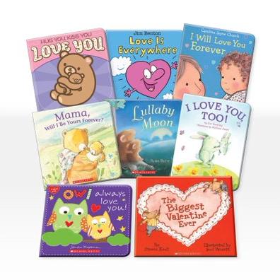 Baby's First Valentine's: 8 Book Bundle