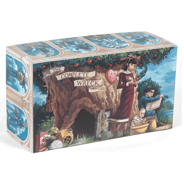 A SERIES OF UNFORTUNATE EVENTS BOX: THE COMPLETE WRECK (BOOKS 1-13) by Lemony Snicket