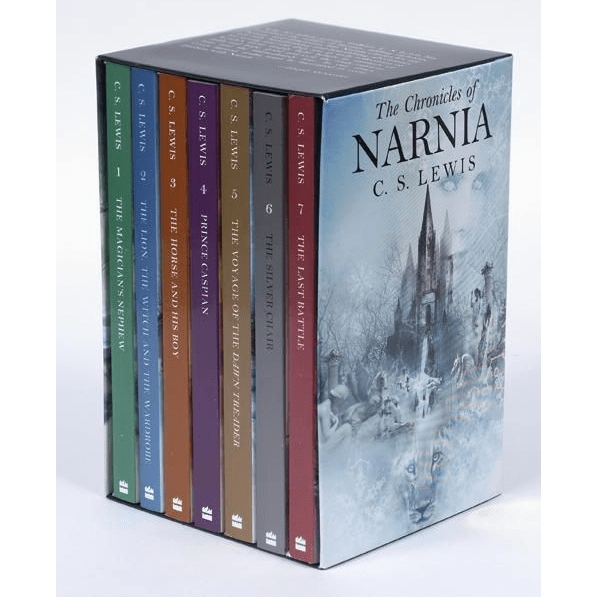 The Chronicles of Narnia Rack Box Set by C. S. Lewis