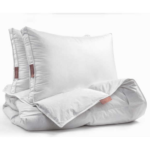 Dolce Bianca Microgel Duvet and Pillows Set - King